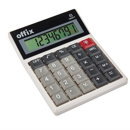 Calculatrice de bureau Offix® D25