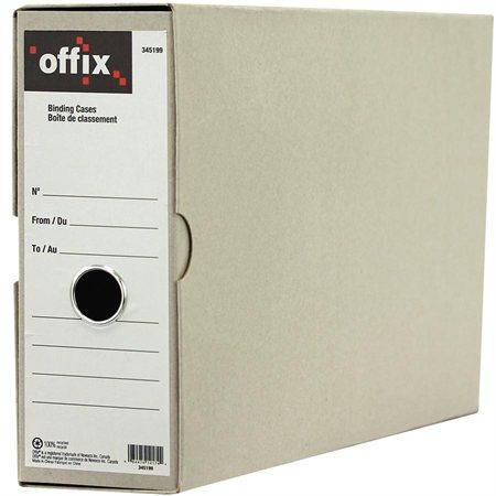"""Boîte de classement Offix® Format légal, 15-1 / 2 x 3-1 / 2 x 9-1 / 4"""""""