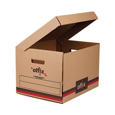 Boîte d'entreposage enviro Offix® Paquet de 25 boîtes