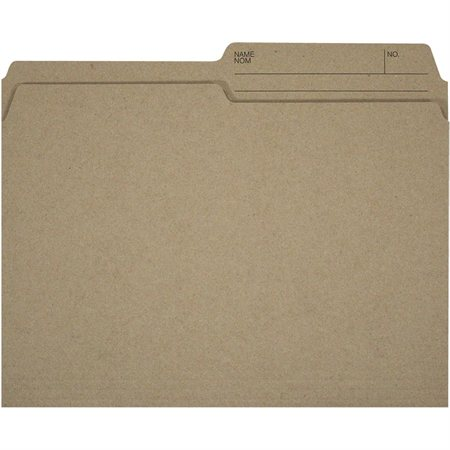 Offix® Reversible Kraft File Folders
