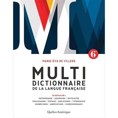 The Multidictionnaire 6th edition
