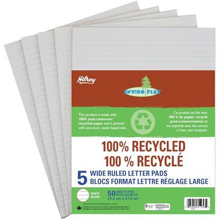 Bloc de papier recyclé Enviro Plus™