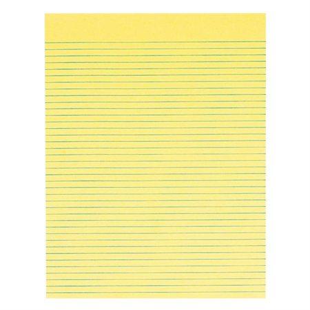 Notepad Letter size, lined. pkg 5