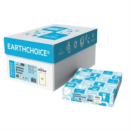 """Papier couverture à usage multiples EarthChoice® Bristol Format lettre, 8-1 / 2 x 11"""" ivoire"""