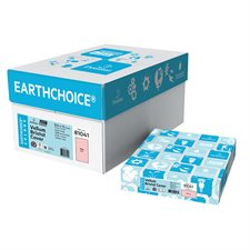 "Papier couverture à usage multiples EarthChoice® Bristol Format lettre, 8-1/2 x 11"" rose"