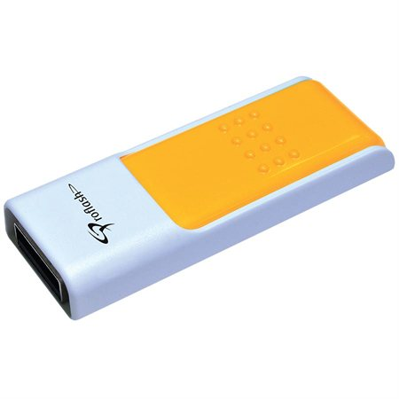 Clé USB à mémoire flash Pratico USB 2.0 - 8 Go orange