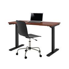 """Table d'ordinateur réglable 24 x 48"""" bordeaux"""