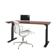 """Table d'ordinateur réglable 30 x 60"""" bordeaux"""