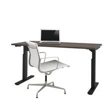 """Table d'ordinateur réglable 30 x 60"""" antigua"""