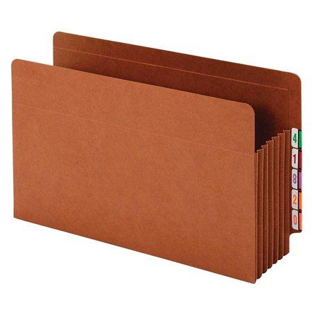 End-Tab Shelf Pocket
