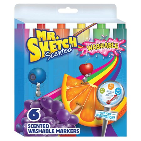 Marqueurs lavables Mr. Sketch Scented™ Stix