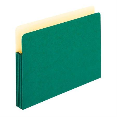 Pochette de classement de couleur vert