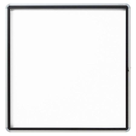 """Tableau blanc magnétique à encadrement fermé Euro™ 38 x 39"""""""
