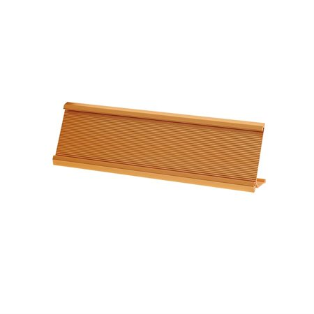"Support pour plaque d'identification De bureau, 2 x 8"" or"