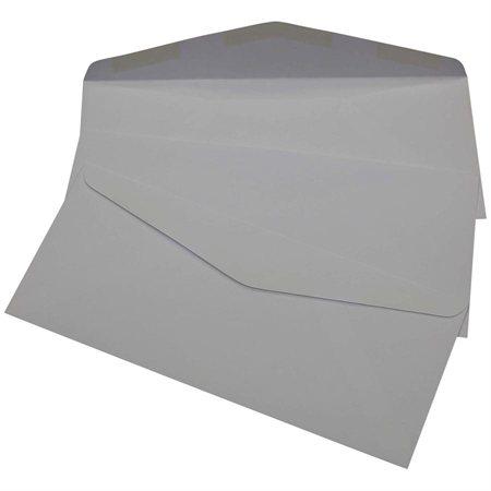 Enveloppe à joint croisé sans fenêtre