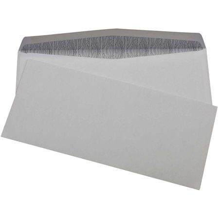 """Enveloppe confidentielle Sans fenêtre #9, 3-7 / 8 x 8-7 / 8"""""""