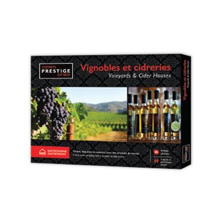 Coffret Prestige : Vignobles et cidreries