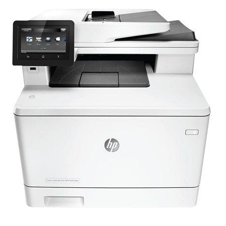 Imprimante laser multifonction couleur sans fil LaserJet Pro M477fdw