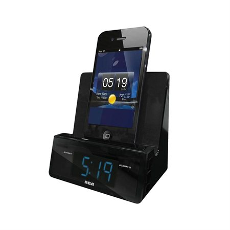 RCD215 Charging Stand Alarm Clock