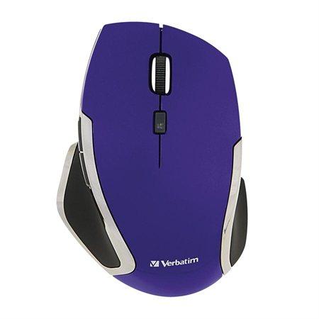Souris sans fil Deluxe à 6 boutons violet