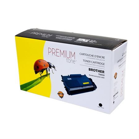 Cartouche de toner à haut rendement compatible Brother TN450