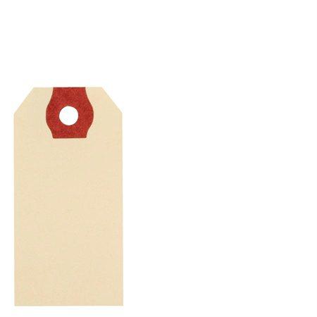 """Étiquettes d'expédition en papier manille 2-3 / 4 x 1-3 / 8"""""""