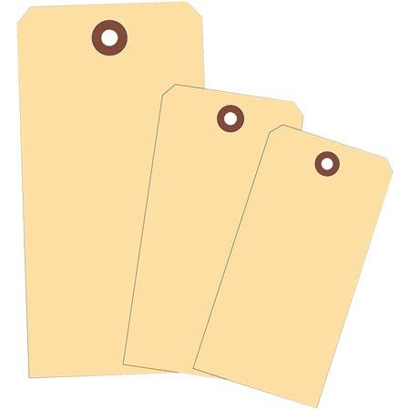 """Étiquettes d'expédition en papier manille 4 3 / 4 x 2 3 / 8"""""""