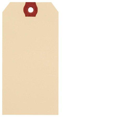 Étiquettes d'expédition en papier manille