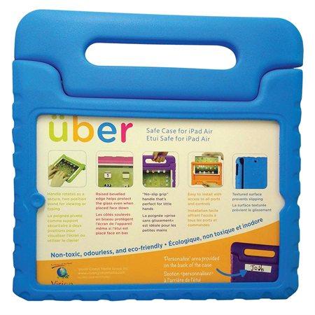 Étui Uber Safe iPad Air bleu