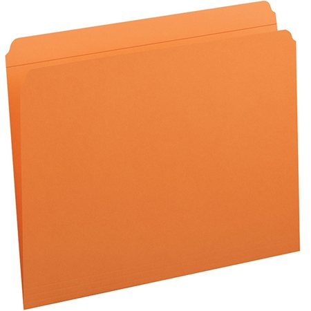 Coloured File Folders with Reinforced Tab