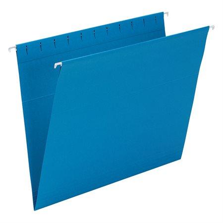 Dossiers suspendus Format lettre bleu