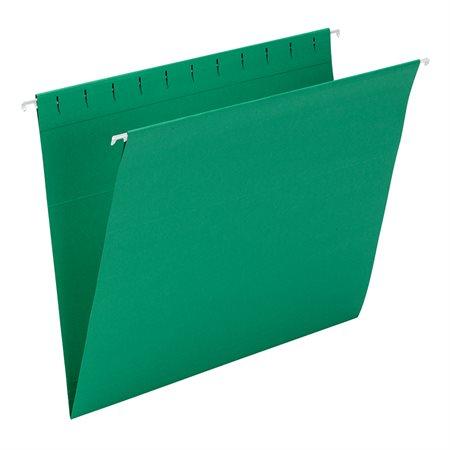 Dossiers suspendus Format lettre vert