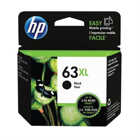 63XL High Yield Inkjet Cartridge