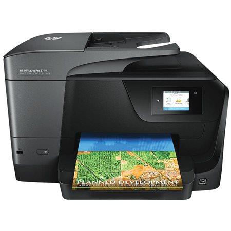 Imprimante jet d'encre multifonction couleur sans fil OfficeJet Pro 8710