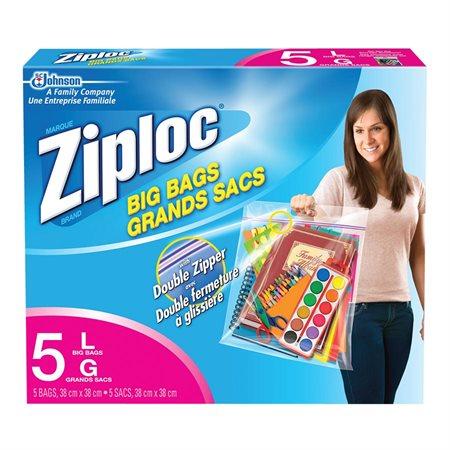 Ziploc® Big bags with Double Zipper