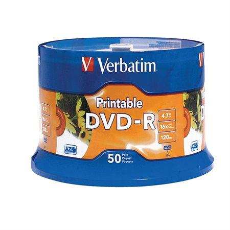 White Inkjet Printable DVD Disk