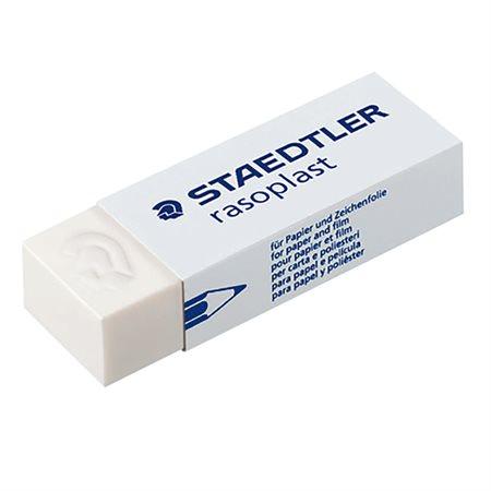 "Mars Rasoplast Eraser 1-1 / 2 x 1 / 2 x 1 / 3"" Sold individually"