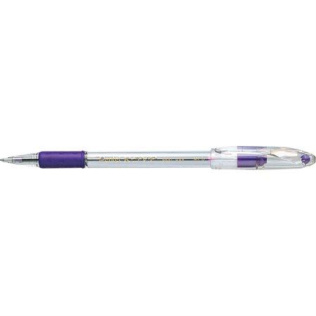 Stylo à bille RSVP® 1,0 mm. Boite de 12 violet
