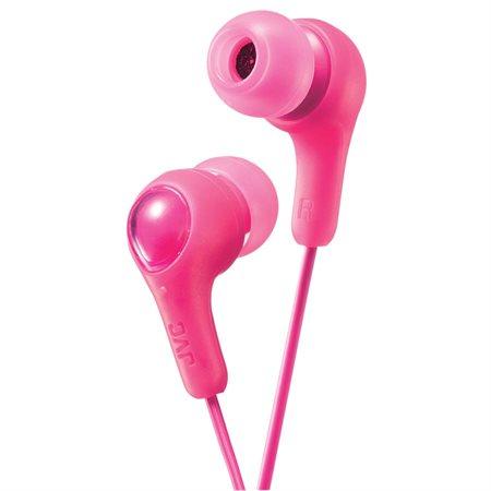 Écouteurs Gumy rose