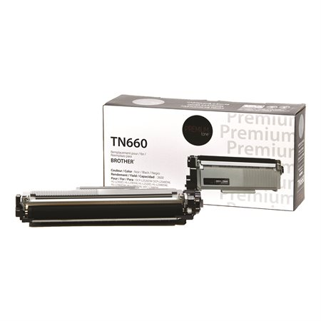 Brother TN660 High Yield Compatible Toner Cartridge