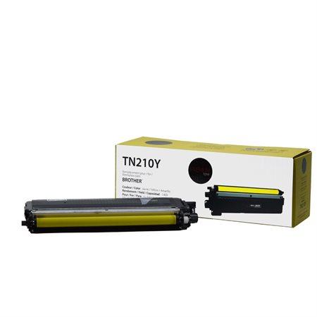 Cartouche de toner compatible Brother TN210Y