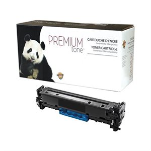 Cartouche de toner compatible (Alternative à HP 128A) cyan