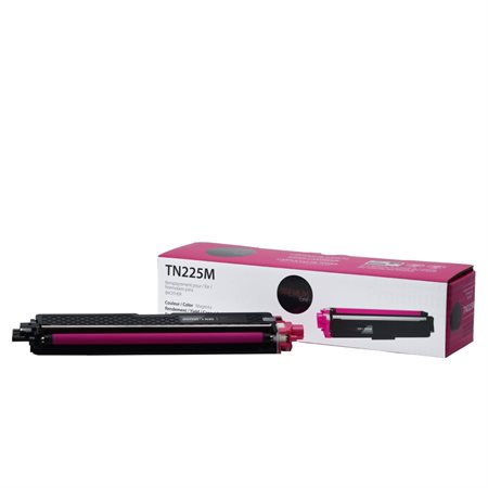 Cartouche de toner compatible Brother TN225 magenta