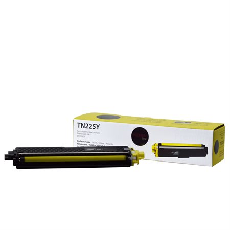 Cartouche de toner compatible Brother TN225Y jaune