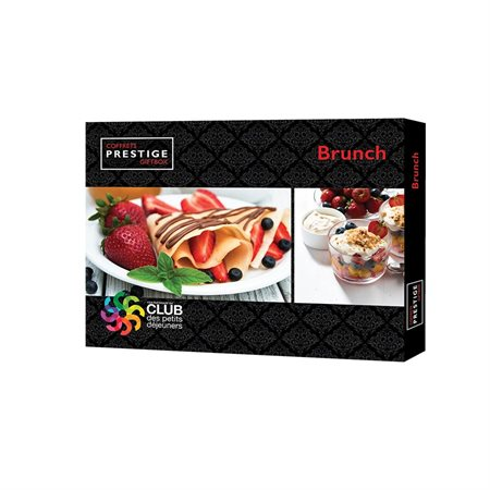 Coffret Prestige : Brunch