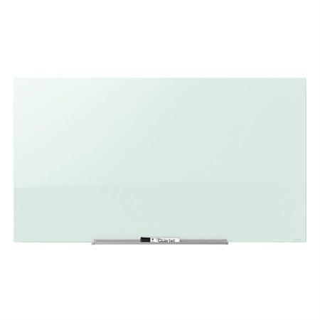Tableau effaçable à sec en verre magnétique InvisaMount™ 39 x 22 po
