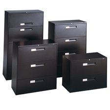 Classeurs latéraux Fileworks® 9300 3 tiroirs nevada