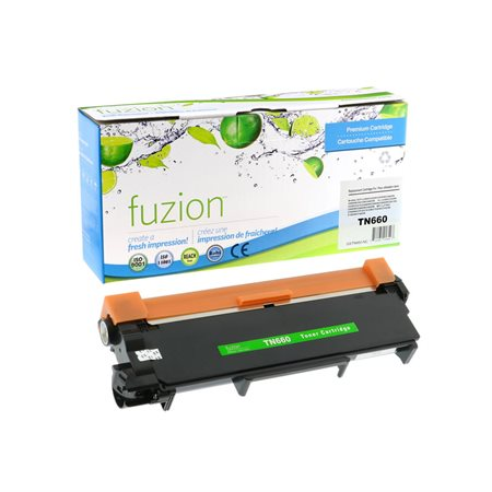 Cartouche de toner à haut rendement compatible Brother TN660