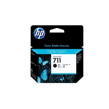 Cartouche jet d'encre HP 711 longue durée, 80 ml noir