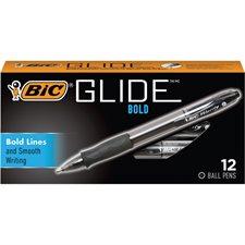 Velocity™ Retractable Ballpoint Pen Box of 12 black